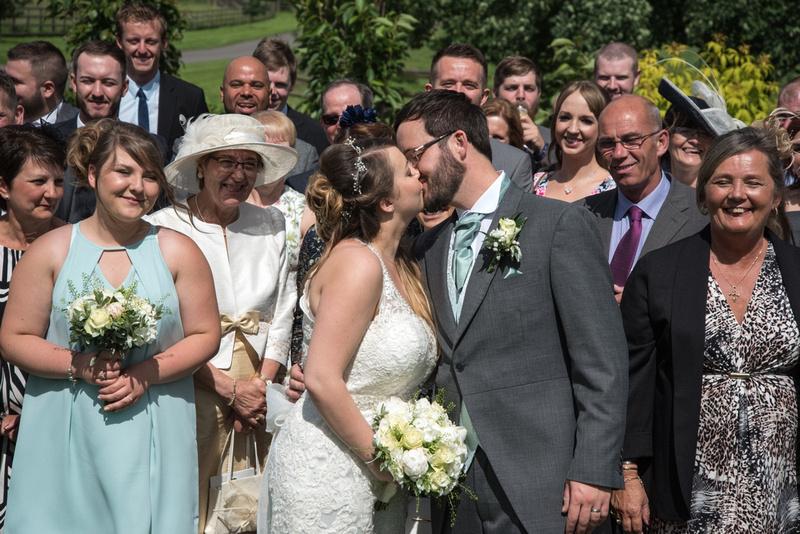 Wedding photographer Mythe Barn Warwickshire