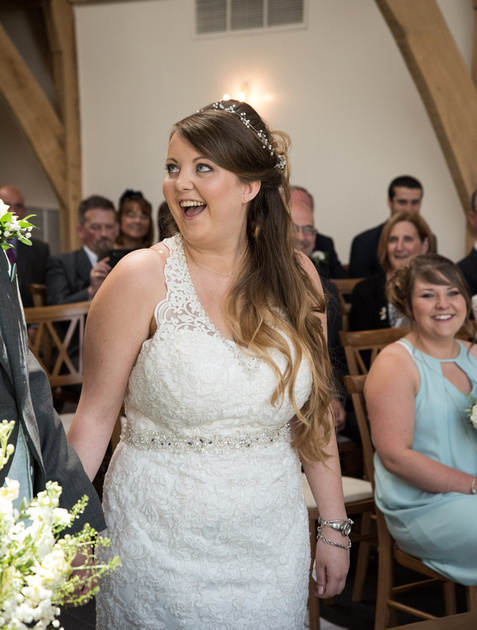 Mythe Barn Warwickshire Wedding Photographer