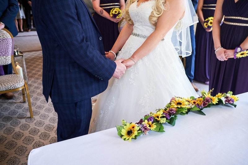 Wedding Photography at Hothorpe Hall
