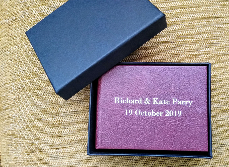 Wedding Albums and Wedding USB's